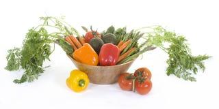 Veggie Kom 1 Royalty-vrije Stock Afbeeldingen