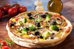 Veggie Pizza Stock Photos