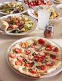 Veggie Pizza Royalty Free Stock Photos