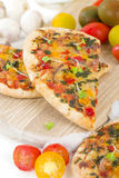 Veggie Pizza Stock Image