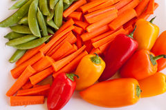 Veggie platter Royalty Free Stock Photography