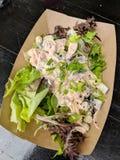 Veggie Poke Salad Royalty Free Stock Image