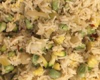Veggie rijst Royalty-vrije Stock Afbeeldingen