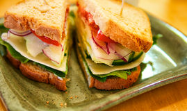 Veggie Sandwich Stock Photos