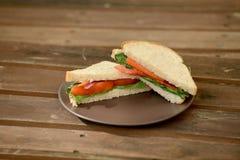 Veggie sandwich Stock Images