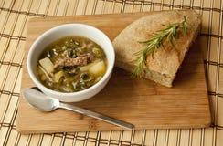 Veggie soup Stock Photo