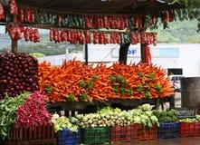Veggie Stand Stock Image
