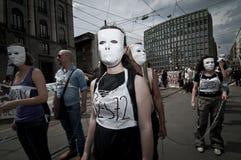 Veggie-Stolz angehalten in Mailand 18. Juni 2011 Lizenzfreie Stockfotos