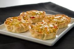 Veggie tarts Stock Images