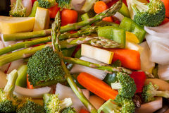 Veggie Wok Royalty Free Stock Photo