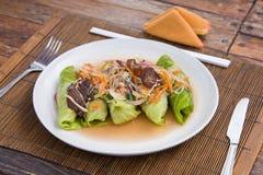 Veggie wrap Stock Images