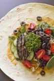 Veggie Wrap Royalty Free Stock Photos