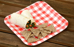 Veggie wrap Royalty Free Stock Photos