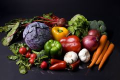 Veggies Stockbild