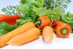 Veggies Fotografie Stock