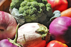 Veggies в Basket_4 Стоковое фото RF