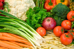 Veggies Close-Up Royalty Free Stock Images