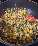 Veggies cooking Stock Image