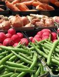 Veggies do mercado do fazendeiro fotografia de stock