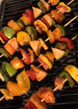 Veggies for grill. Veggies ready to be grilled royalty free stock images
