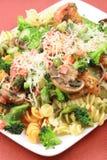 Veggies lovers pasta Royalty Free Stock Image