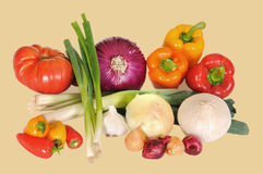 Veggies mix Stock Image