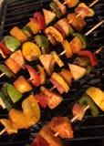 Veggies voor grill royalty-vrije stock afbeeldingen