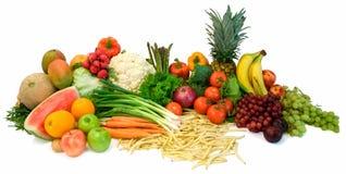 Veggies y frutas Foto de archivo libre de regalías