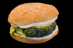 Vegi Burger Stock Image