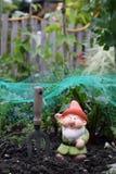 Vegi Patch Gnome Royalty Free Stock Photography