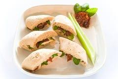 Vegi Sandwich Stock Images
