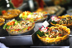 Vegiterian salad buffet Royalty Free Stock Images