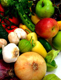 Vegtables e fruta Fotografia de Stock