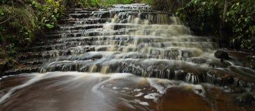 Vegupites waterfall Stock Photography
