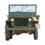 Vehículo americano militar Imágenes de archivo libres de regalías