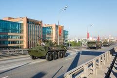 Vehículo blindado de transporte de personal BTR-82A Fotografía de archivo libre de regalías
