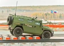 Vehículo blindado de VPK-233115 Tigr-M imagen de archivo