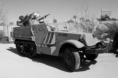Vehículo blindado israelí Foto de archivo libre de regalías