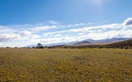 Vehículo campo a través en el altiplano de Bolivean - departamento de Potosi, Bolivia foto de archivo libre de regalías