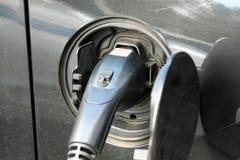 Vehículo con un motor eléctrico Coche de Eco imagen de archivo