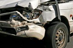Vehículo dañado Fotografía de archivo libre de regalías