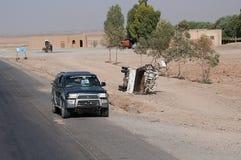 Vehículo dañado Fotos de archivo