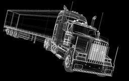 Vehículo de entrega del cargo Fotografía de archivo