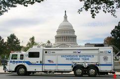 Vehículo de Hazmat, Washington DC Imagenes de archivo