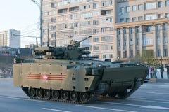 Vehículo de lucha Kurganets-25 de la infantería rusa Imagen de archivo