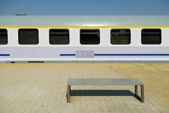 Vehículo de pasajeros ferroviario imagenes de archivo