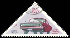 Vehículo de pasajeros Volga Imagenes de archivo