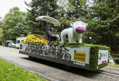 Vehículo de RAGT Semences - Tour de France 2014 Imagen de archivo libre de regalías