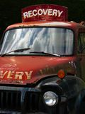 Vehículo de recuperación Foto de archivo