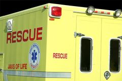 Vehículo de rescate Foto de archivo